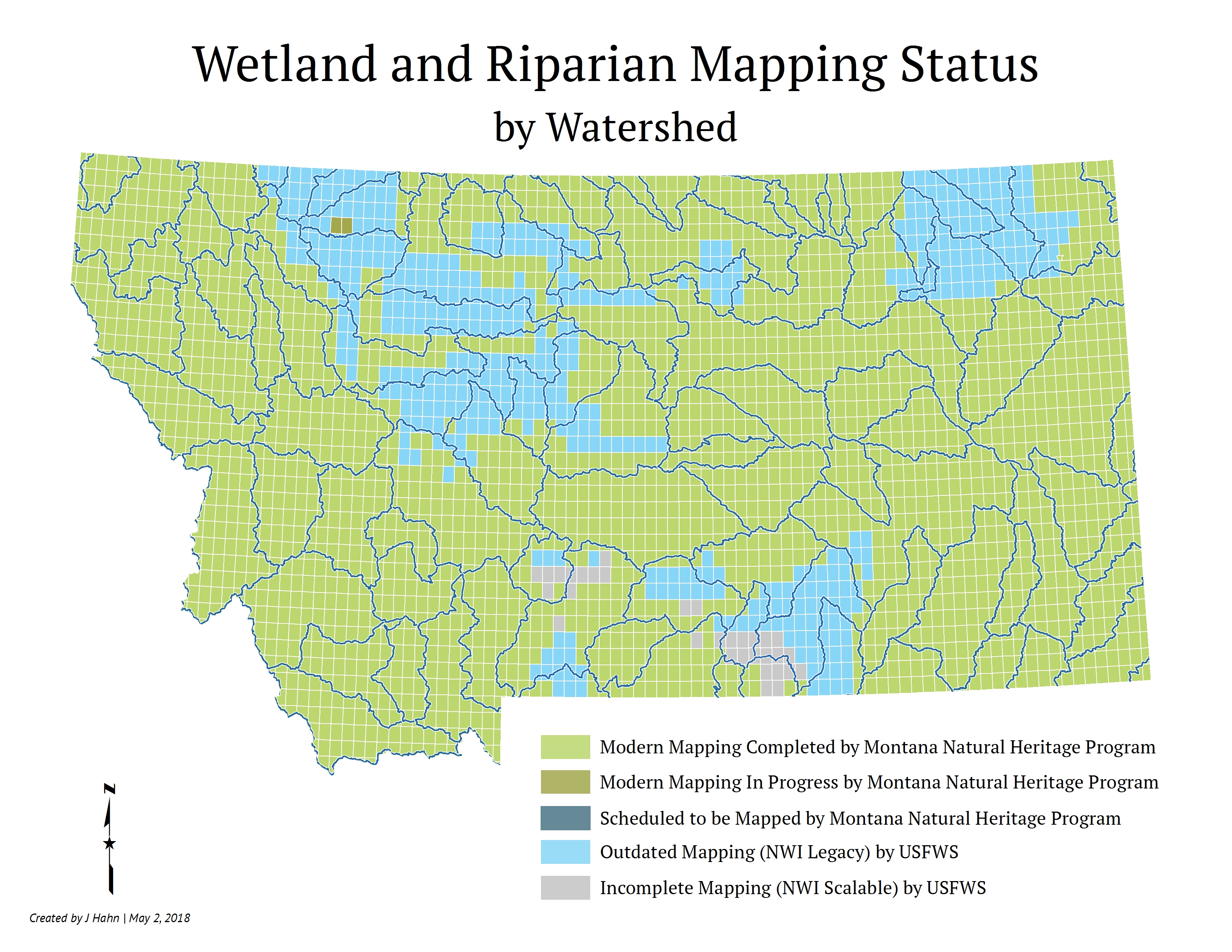 Montana Wetland and Riparian Mapping Center